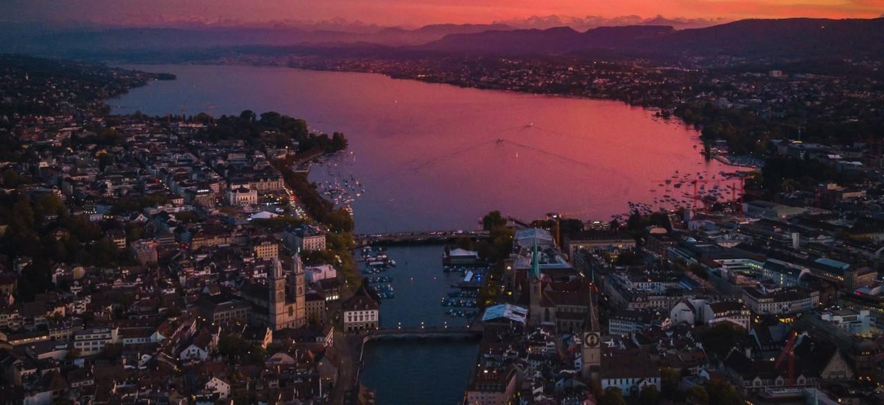 Genebra, Zurique, Berna e Gruyère
