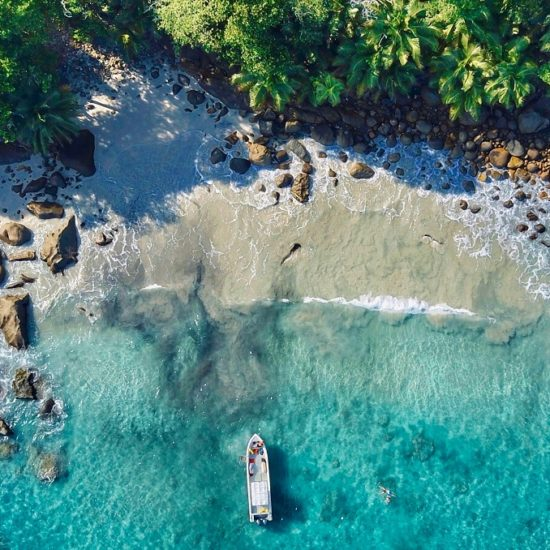 Mergulho em Seychelles