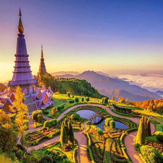 Tailândia de Norte a Sul