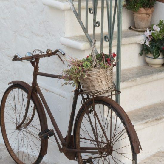 Puglia de bicicleta